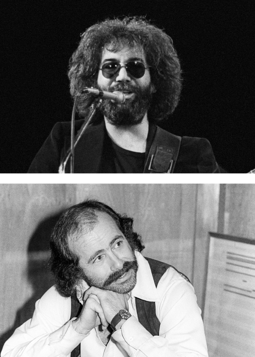 Jerry Garcia and Robert Hunter