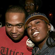 Timbaland and Missy Elliott