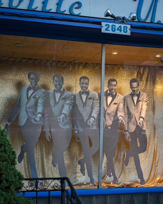Motown Museum Front Window Display