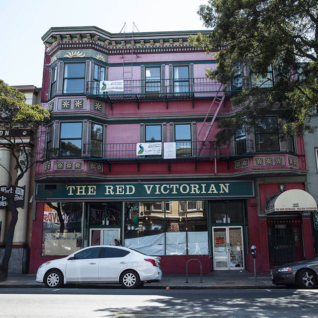 The Red Victorian Hotel