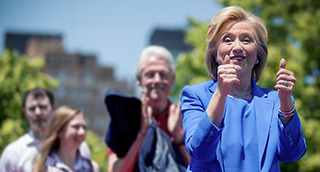 Hillary Clinton Overlay
