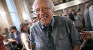 Bernie Sanders Overlay
