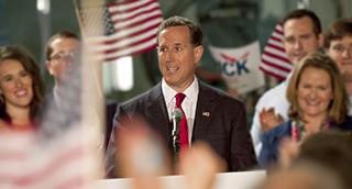 Rick Santorum Overlay