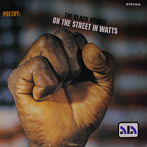 Black Voices: On the Street in Watts cover