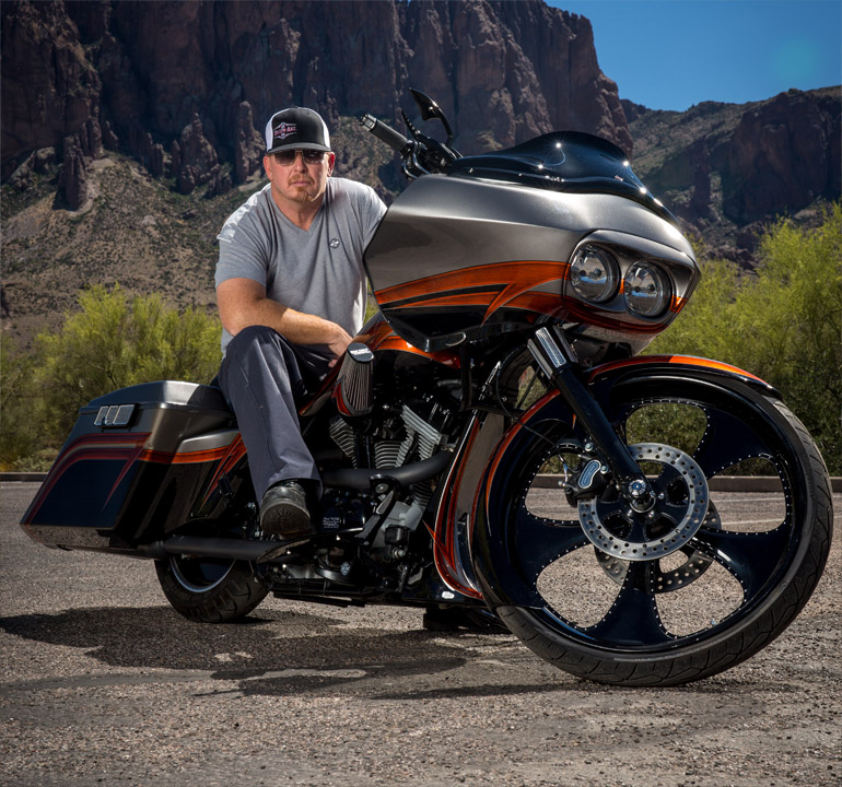 Meet Paul Yaffe from Biker Battleground