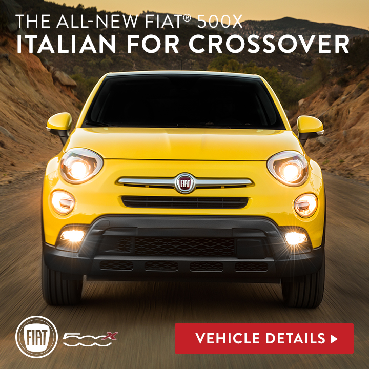Fiat 500X: Italian for Crossover
